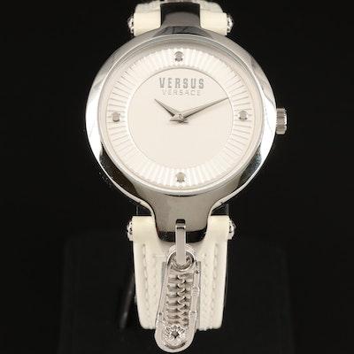 Versus Versace Key Biscayne Stainless Steel Quartz Wristwatch