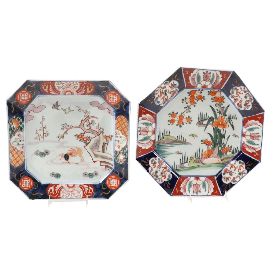Japanese Imari Porcelain Chargers, Late 19th Century