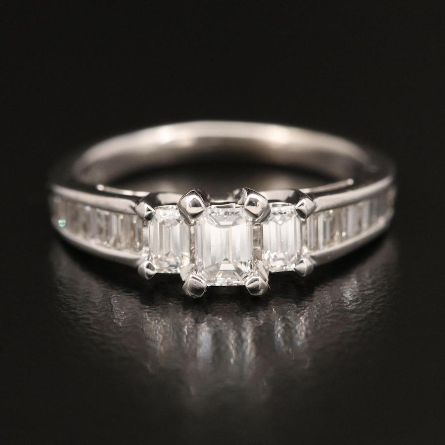 14K 1.11 CTW Diamond Ring