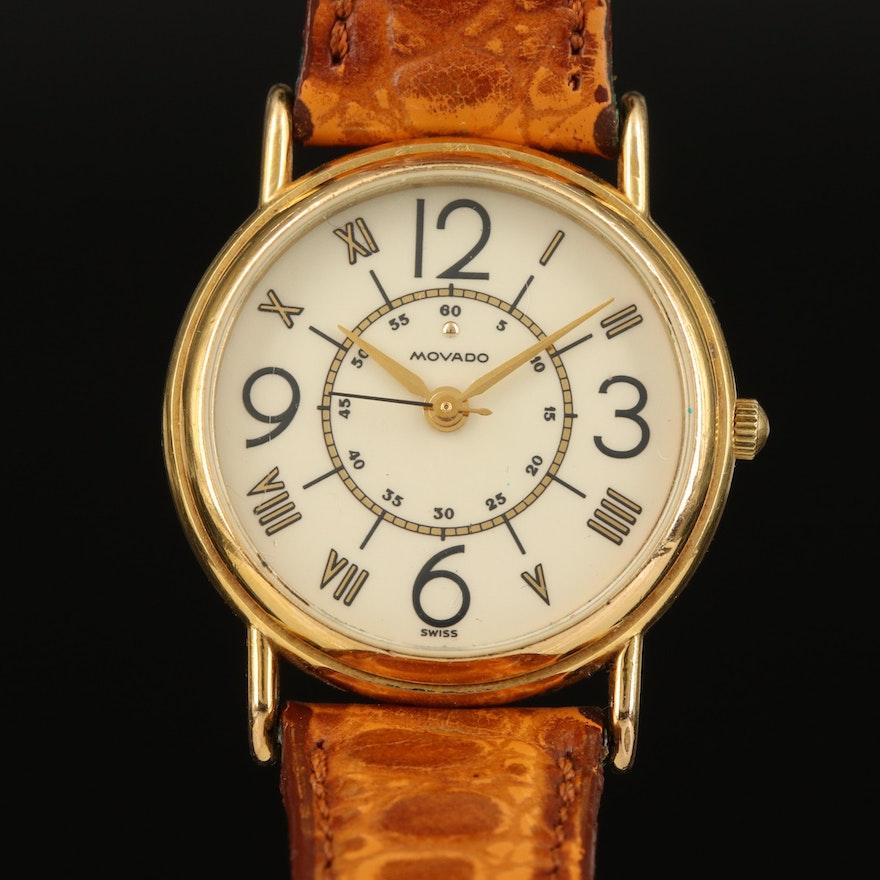 Movado Quartz Wristwatch