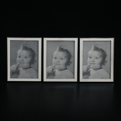 Web Sterling Silver Table Top Picture Frames