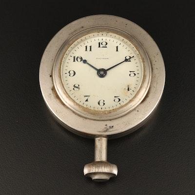 1926 Waltham 8 Day Automobile Clock