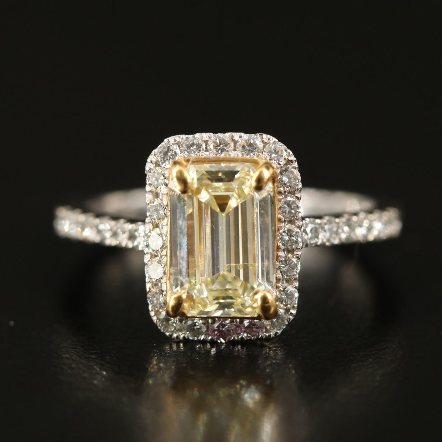 14K 2.06 CTW Diamond Ring