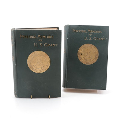 """First Edition """"Personal Memoirs of U. S. Grant"""" by Ulysses S. Grant, 1885–1886"""