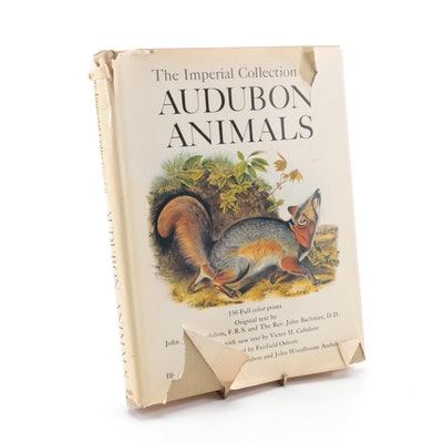 """""""The Imperial Collection of Audubon Animals"""" Edited by Victor H. Cahalane, 1967"""