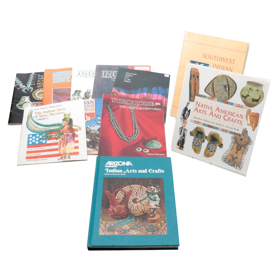 """""""Native American Arts and Crafts"""" and More Native American Art Reference Books"""