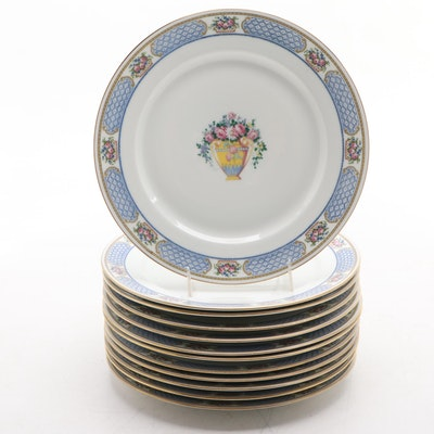 Tressemanes & Vogt for Ovington's New York Porcelain Dinner Plates