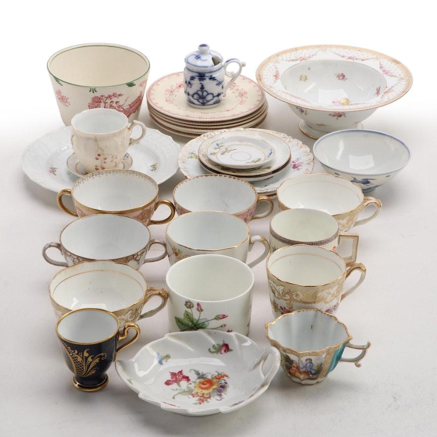 Noritake, Minton, E. Gerard et Dufraiuseix and Other Porcelain Dinnerware