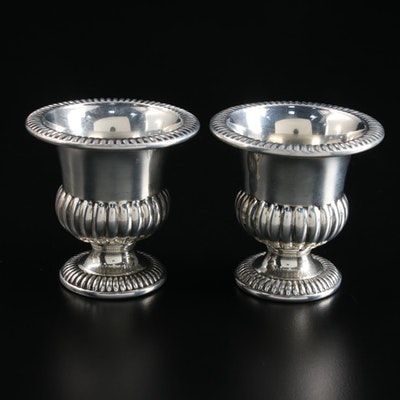 Hallmark Sterling Silver Urn Shaped Toothpick Holders, Mid to Late 20th Century