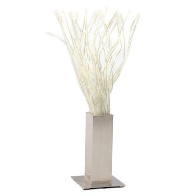 "IKEA ""Stranne"" Modernist Style Steel Table Lamp"