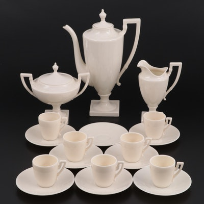 Lenox Porcelain Coffee Service
