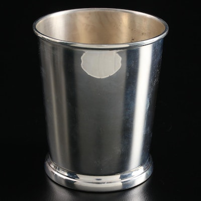 Web Sterling Silver Julep Cup, Mid to Late 20th Century