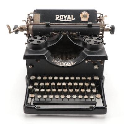 Royal 10 Typewriter, 1921