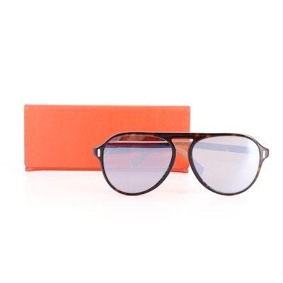 Fendi FFM0055 Pilot Sunglasses with Case