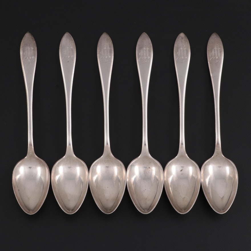 "Towle ""Lafayette"" Sterling Silver Five O'Clock Teaspoons"