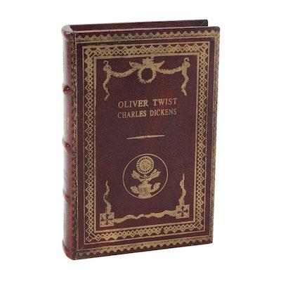 """Oliver Twist"" Decorative Book-Form Box"