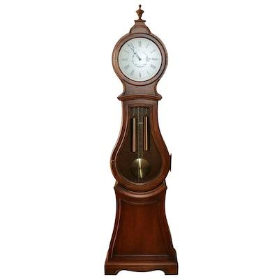 Ethan Allen Bombe Grandfather Clock