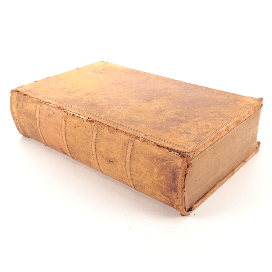 """""""A Treatise on the Law of Evidence"""" Volume I by Simon Greenleaf, 1848"""