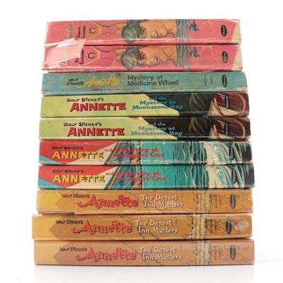 """Walt Disney's """"Annette"""" Novel Collection by Doris Schroeder, Mid-20th Century"""