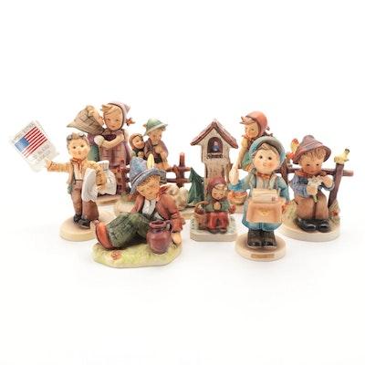 """Goebel """"Worship,"""" """"Eventide"""" and Other M.I. Hummel Porcelain Figurines"""