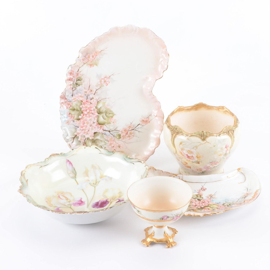 Royal Bonn, R.S. Prussia and Other Porcelain Tableware, Late 19th/ Early 20th C.