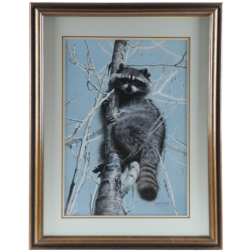 """Charles Fracé Offset Lithograph """"Bandit,"""" Late 20th Century"""
