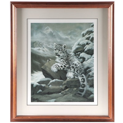 """Charles Fracé Offset Lithograph """"Himalayan Prince,"""" Late 20th Century"""