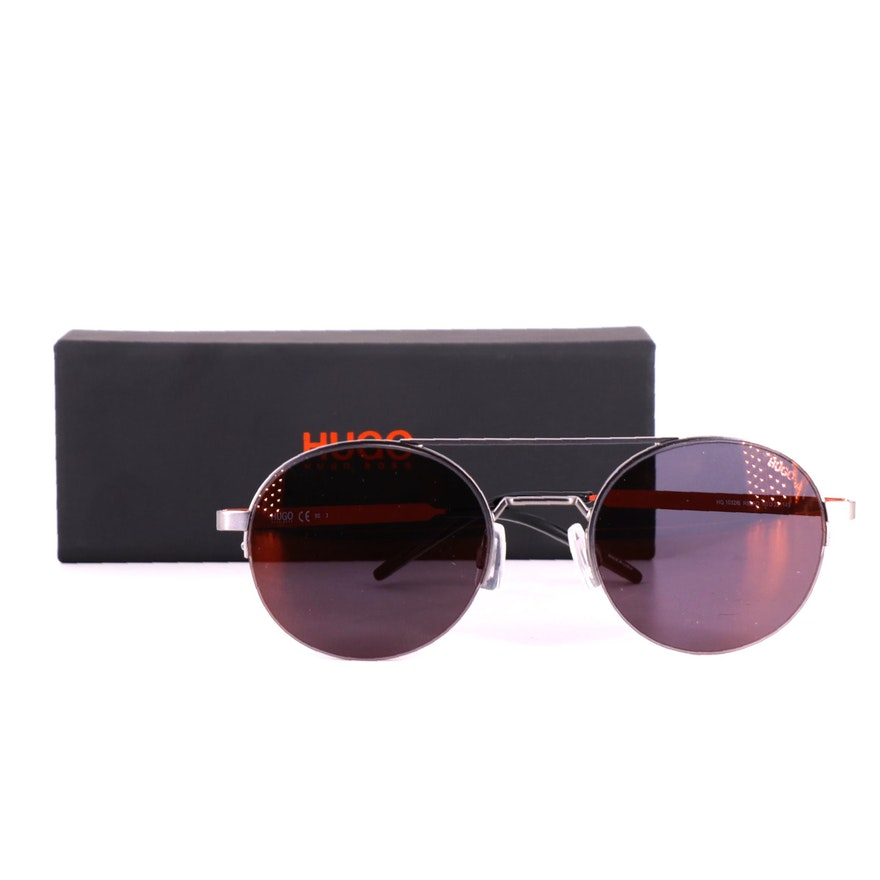 Hugo Boss HG 1032/S Round Sunglasses with Case