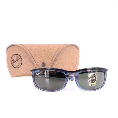Ray-Ban RB 2319 Olympian I Blue Sunglasses with Case