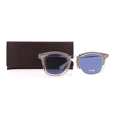 Fendi FF M0045/S Horn-Rimmed Sunglasses