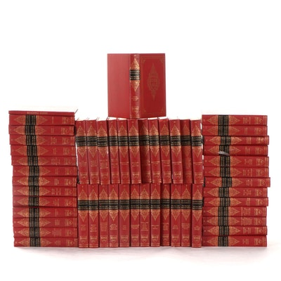 """""""The Harvard Classics"""" Deluxe Registered Edition Complete Set, Mid-20th Century"""