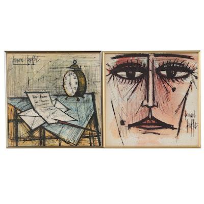 Offset Lithograph After Bernard Buffet from Ella Fitzgerald Songbook
