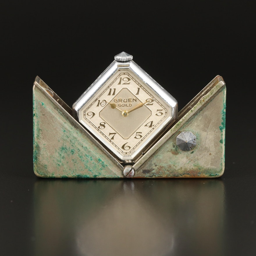 1931 Gruen Guild Purse Watch