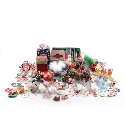 Dept. 56 with Other Christmas Decor and Ornaments