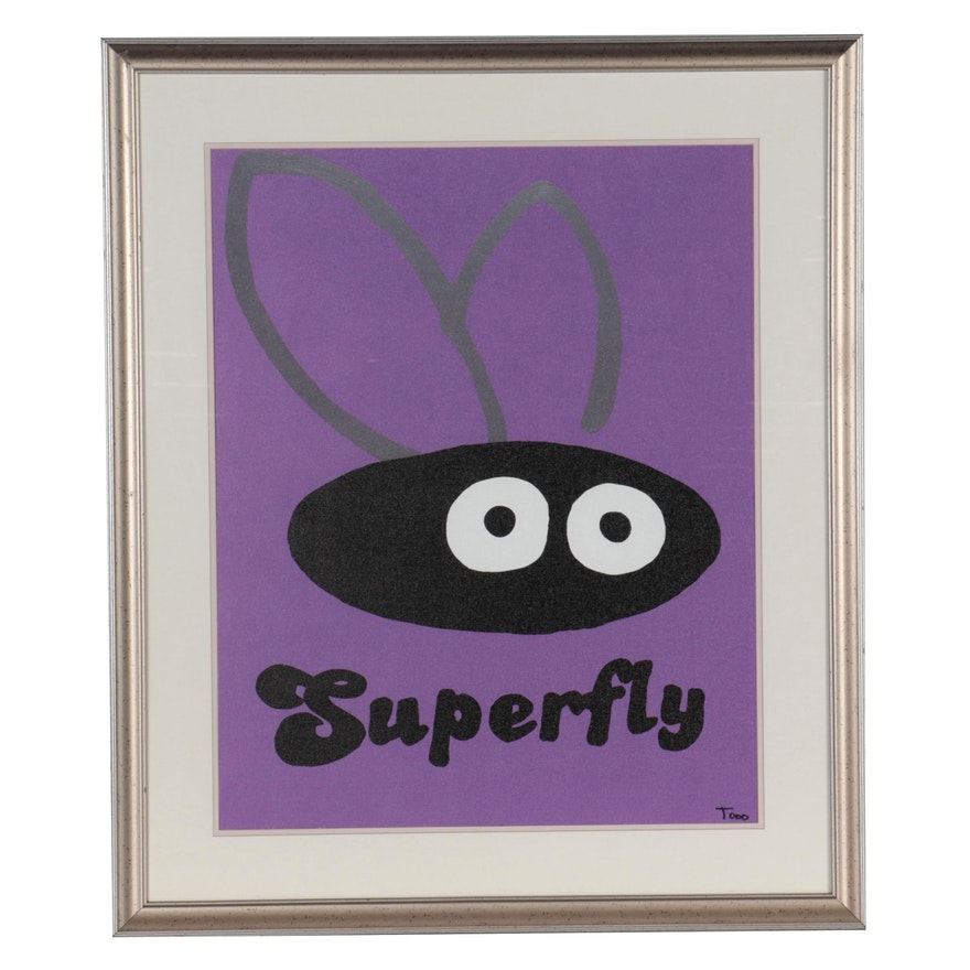 "Todd Goldman Giclée ""Superfly,"" 21st Century"