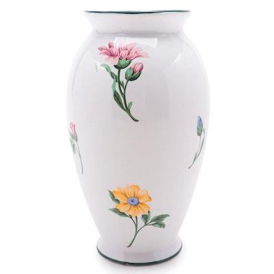 "Tiffany & Co. ""Sintra"" Ceramic Floral Vase, 1990s"