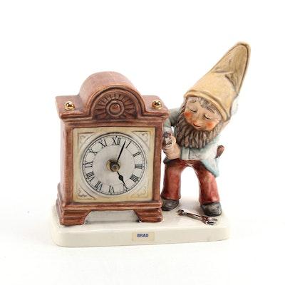 """Brad the Clockmaker"" Goebel Porcelain Figurine"