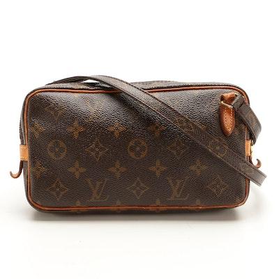 Louis Vuitton Pochette Marly Bandouliere Crossbody Bag in Monogram Canvas