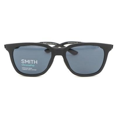 Smith Roam Matte Black Sunglasses with ChromaPop Lenses and Case