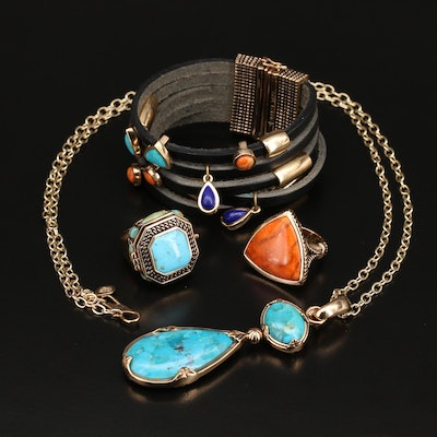 Barse Jewelry Including Coral, and Gemstones