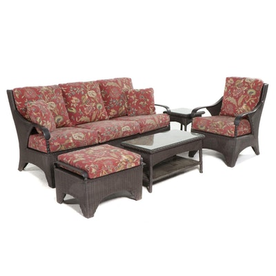 Brown Jordan Resin Wicker Weave Patio Furniture
