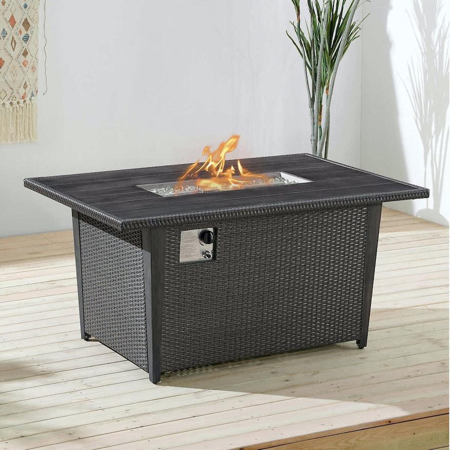 """Ōve """"Bentley III"""" Outdoor Fire Table"""
