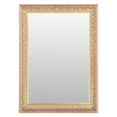 """The Bombay Company """"Holly Leaf"""" Giltwood and Composition Mirror"""