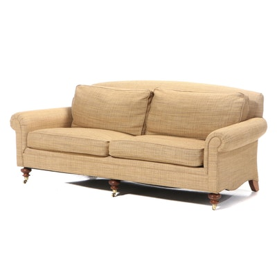 """Drexel Heritage """"Lillian August Collection"""" Upholstered Roll-Arm Sofa"""