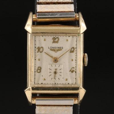 Vintage Longines Stem Wind Wristwatch
