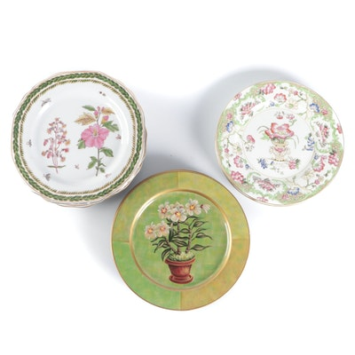 Tim Coffey for Toyo Decorative Plates, George Jones & Sons and Other Plates