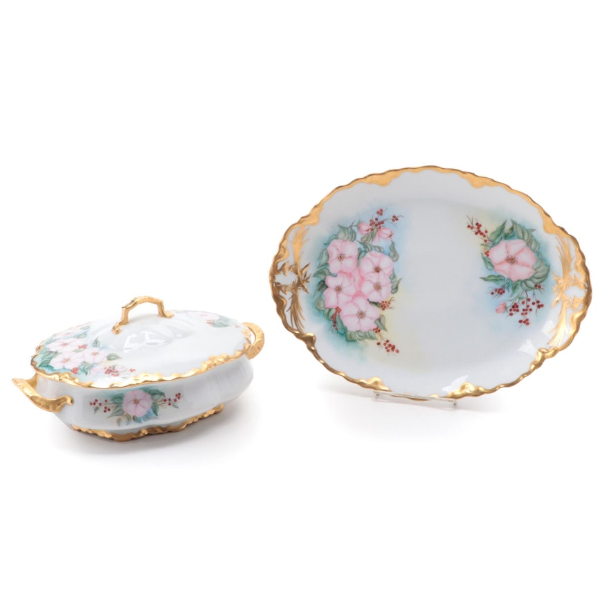 Hutshenreuther Porcelain Tureen with Under Plate