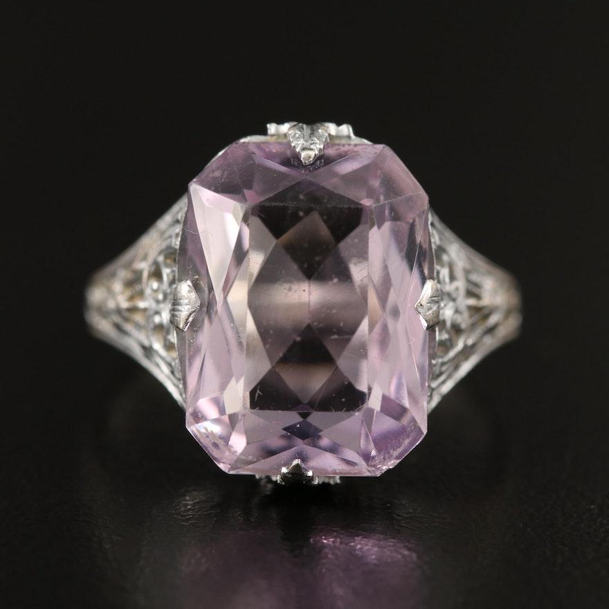 Art Deco Amethyst Ring
