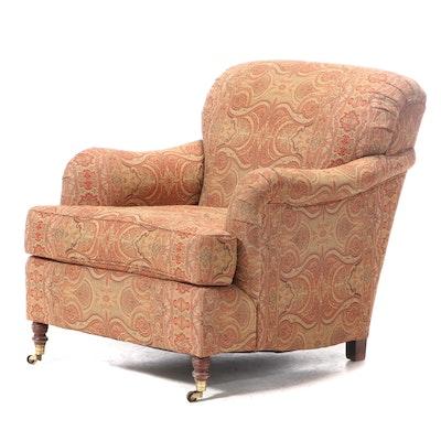 Kravet Furniture William IV Style Custom-Upholstered Armchair