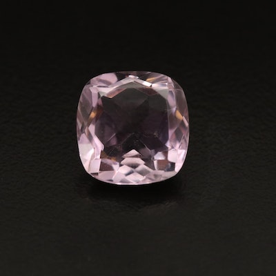 Loose 7.17 CT Cushion Faceted Amethyst